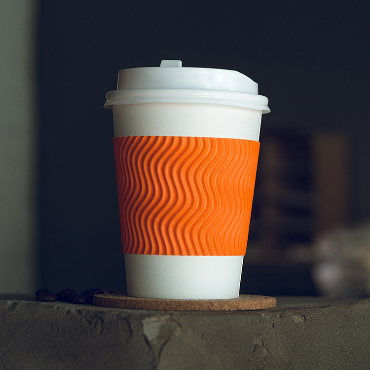 Biodegradable Paper Hot Insulated Single Wall Ripple Cup