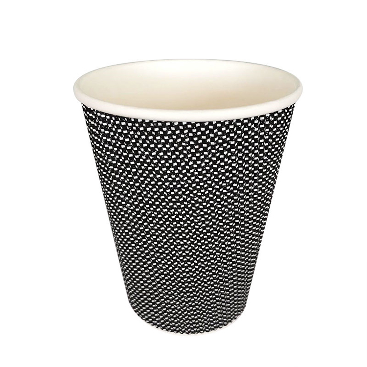 skillful manufacture ripple wall disposable paper tea cups