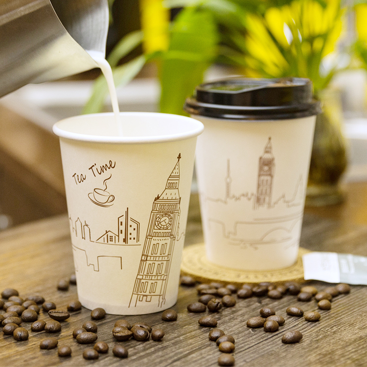 Custom Printed 2oz Paper Hot Cups 50ml Paper Coffee Cups