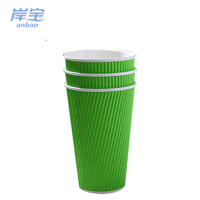 cheap custom 6 oz coffee ripple paper cups