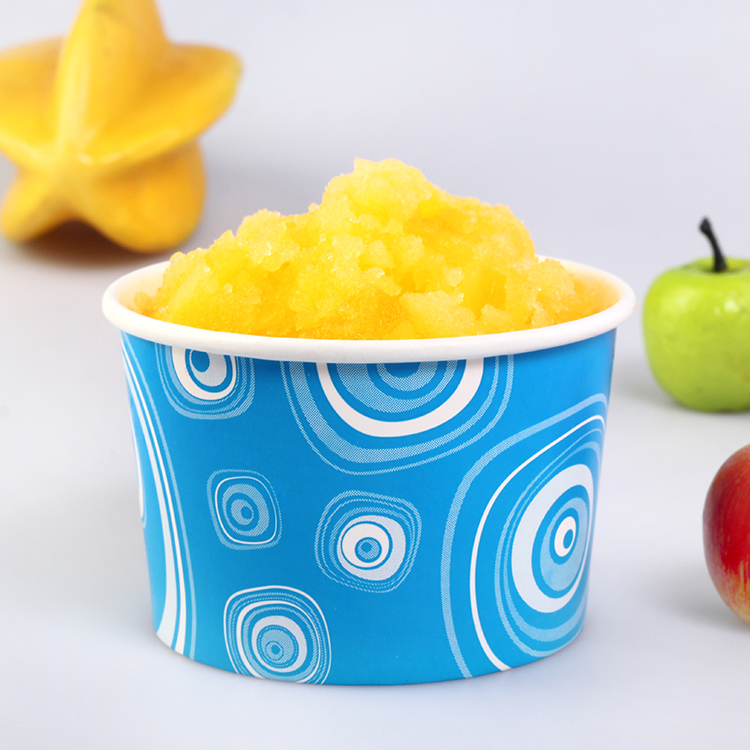 chinese manufacturer disposable ice cream cups with cover and lids