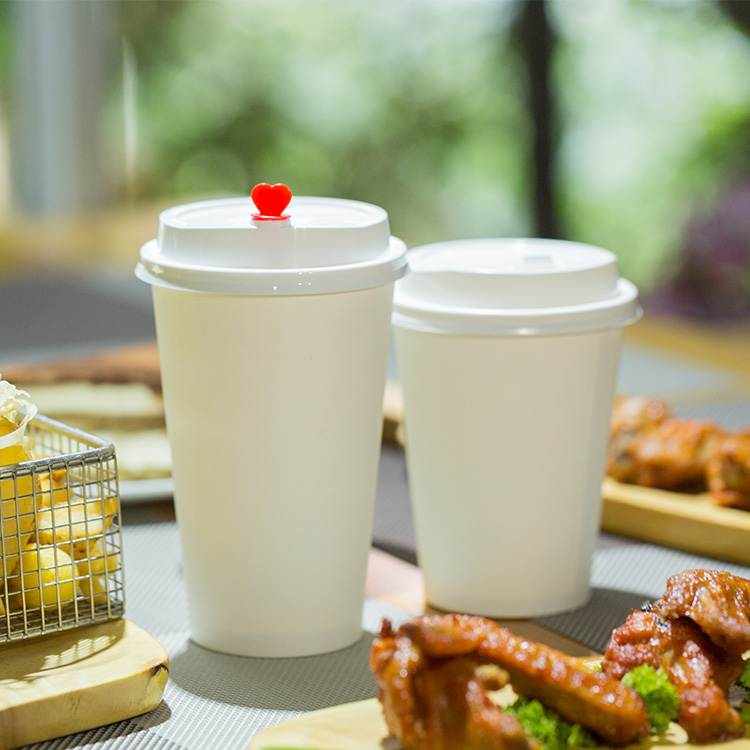 Paper Coffee Cups 100Ml Disposable Carton Cups For Take Away
