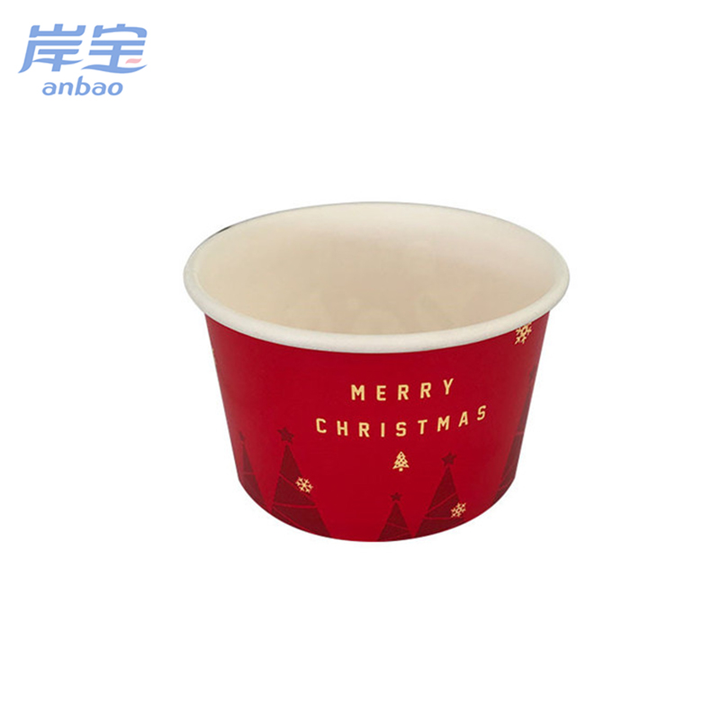 wide varieties ice cream packaging cup bowl
