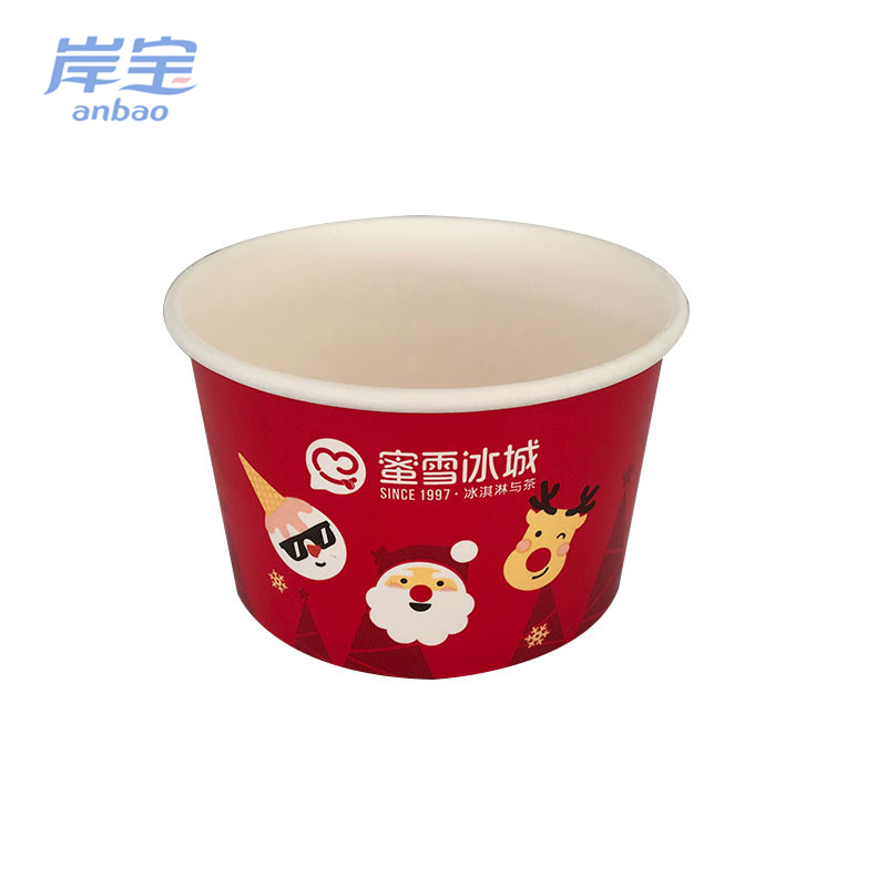Ice cream bowls/cups/containers