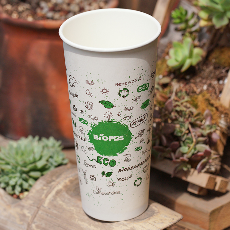 Durable Hot Sale BioPBS Cup Disposable Coffee Cups