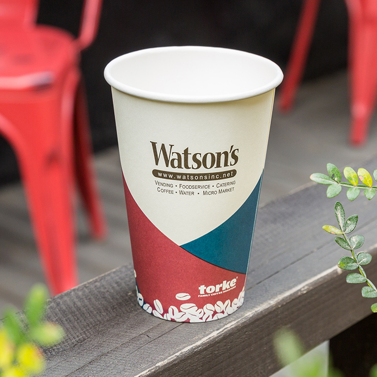 Eco Friendly Disposable Paper Soup Cup With Printing Logo