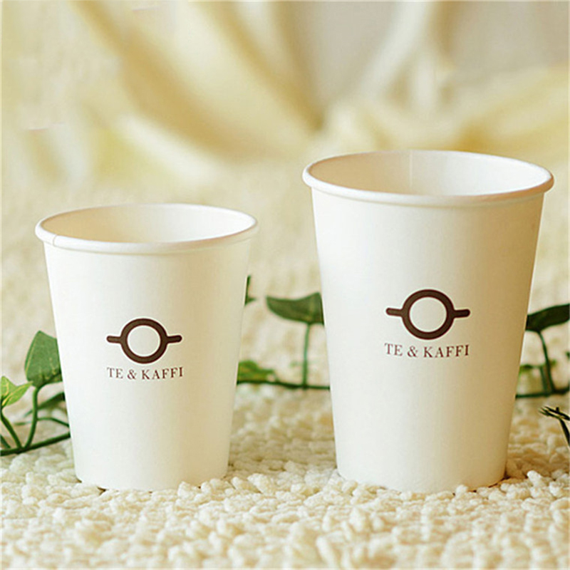 16 oz Coffee Cup Custom Design Kraft Paper Cup for Beverage Factory Price