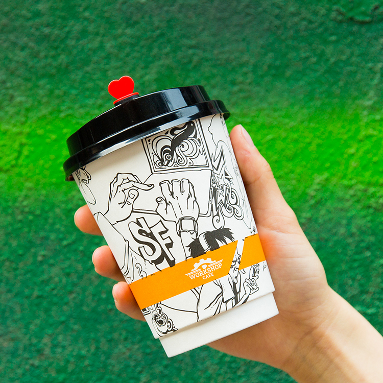 Wholesale Cheap Custom Printed Biodegradable Disposable Paper Personalised Cups Wholesale