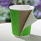 ripple wall paper coffee cup with sleeve and lids holder with handle