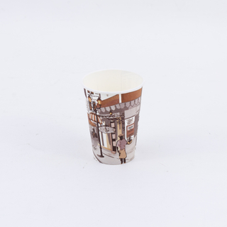 Special Design Disposable 2 oz-32 oz Espresso Paper Cups Customized