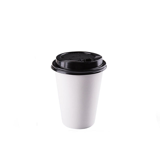 Disposable Single Wall Insulated Paper Coffee Cup
